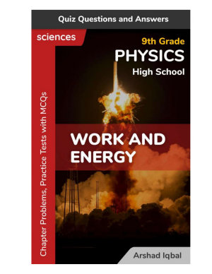 Work and Energy Quiz Questions and Answers PDF