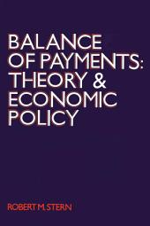 Balance of Payments: Theory and Economic Policy