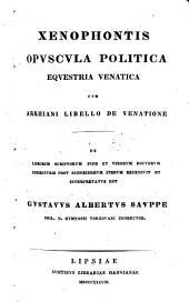 Que exstant: Opuscula politica, equestria, venatica continens, Volume 6