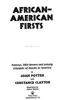 African American Firsts PDF