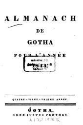 Almanach de Gotha: annuaire généalogique, diplomatique et statistique. 1844