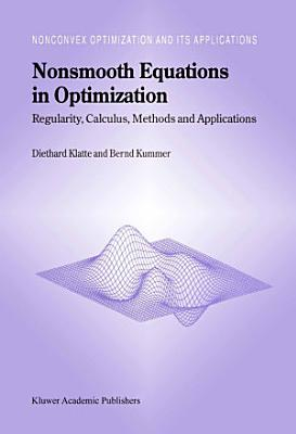 Nonsmooth Equations in Optimization PDF