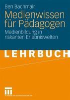Medienwissen f  r P  dagogen PDF