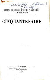 Cinquantenaire de la société, 15-16 Janvier 1906