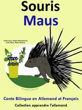 Souris - Maus: Conte Bilingue en Français et Allemand: Collection apprendre l'allemand