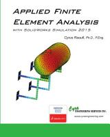 Applied Finite Element Analysis with SolidWorks Simulation 2015 PDF