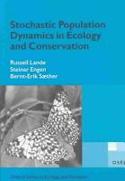 Stochastic Population Dynamics in Ecology and Conservation PDF