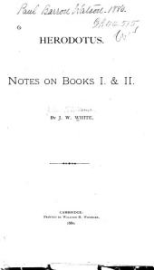 Herodotus: Notes on Books 1 & 2, Book 2