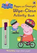Peppa and George's Wipe-Clean
