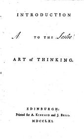 Introduction to the Art of Thinking