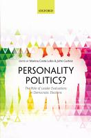 Personality Politics  PDF