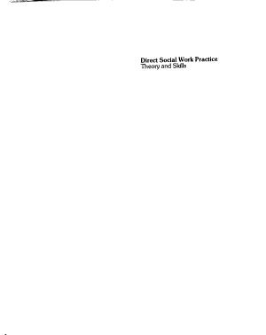 Direct Social Work Practice PDF