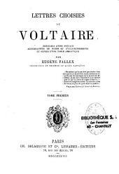 Lettres choisies de Voltaire