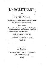 L'Angleterre, ou description historique et topographique du Royaume-Uni de la Grande-Bretagne
