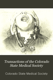 Transactions of the Colorado State Medical Society