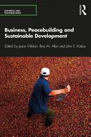 Business  Peacebuilding and Sustainable Development PDF