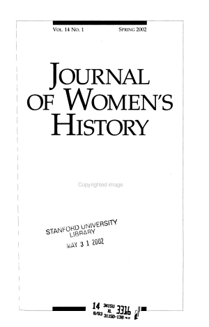 Journal of Women s History PDF