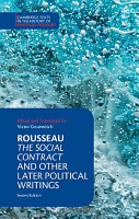 Rousseau  The Social Contract and Other Later Political Writings PDF