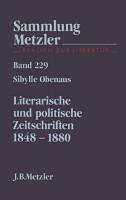 Literarische und politische Zeitschriften 1848 1880 PDF