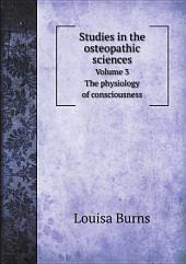 Studies in the osteopathic sciences