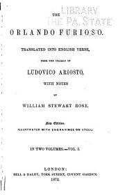 The Orlando Furioso: Volume 1