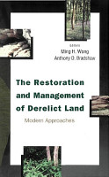 Restoration And Management Of Derelict Land  The  Modern Approaches PDF