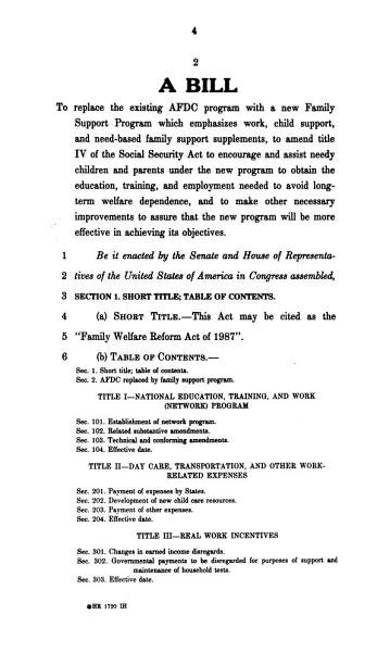 Download Family Welfare Reform Act Book