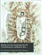 Étude sur les monuments de lárchitecture militaire des croisés en Syrie et dans líle de Chypre