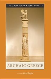 The Cambridge Companion to Archaic Greece