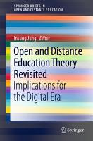 Open and Distance Education Theory Revisited PDF