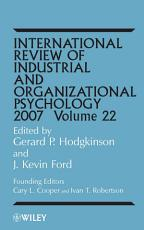 International Review of Industrial and Organizational Psychology 2007 PDF