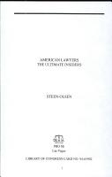 American Lawyers PDF