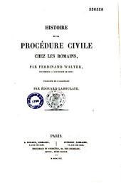 Histoire de la procédure civile chez les Romains