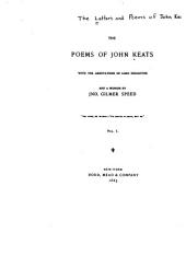 The Letters and Poems of John Keats ...