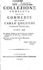 Collezione completa delle commedie del signor Carlo Goldoni: Volume 29