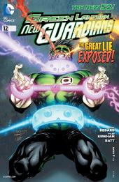 Green Lantern: New Guardians (2011-) #12