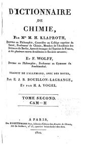Dictionnaire de chimie: Volume2