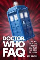 Doctor Who FAQ PDF