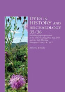 Dyes in History and Archaeology 35 36 PDF