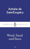 Wind  Sand and Stars Book