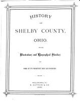 History of Shelby County  Ohio PDF
