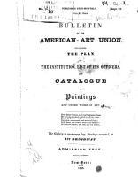 Bulletin of the American Art Union PDF