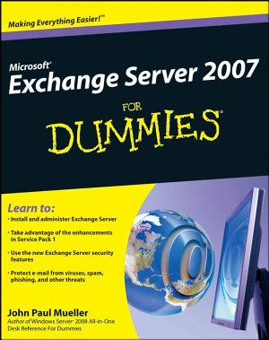 Microsoft Exchange Server 2007 For Dummies PDF