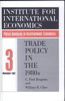 Trade Policy in the 1980s PDF