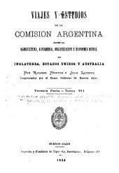 Viajes y estudios de la Comisión argentina sobre la agricultura, ganadería, organización y economía rural en Inglaterra, Estados-Unidos y Australia: Volúmenes 7-8