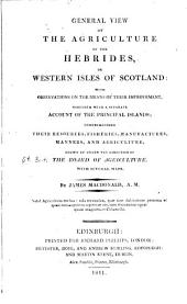 Agricultural Surveys: Hebrides (1811)