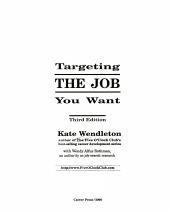 Targeting the Job You Want PDF