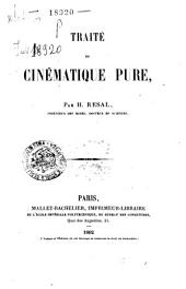 Traité de cinématique pure