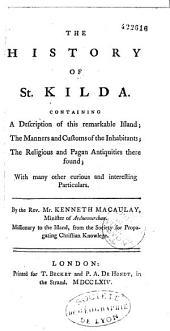 The History of Saint Kilda