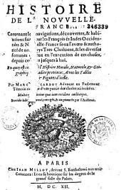 Histoire de la Nouvelle-France... Par Marc Lescarbot...